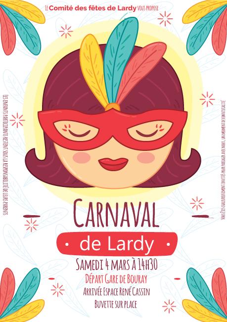 Carnaval de Lardy 2017 - Affiche